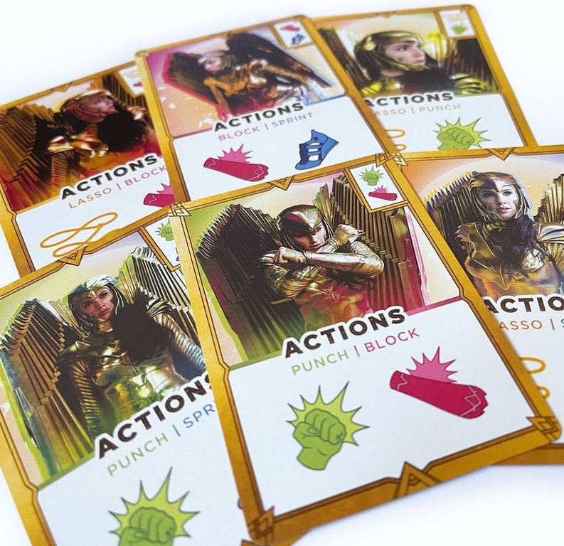WW84: Wonder Woman Card Game cards