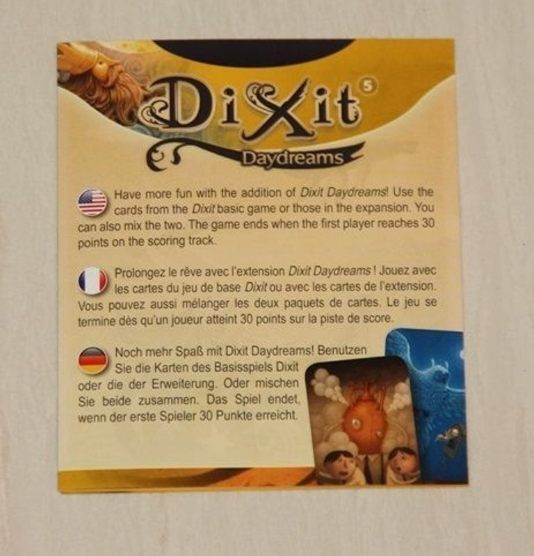 Dixit: Daydreams manual