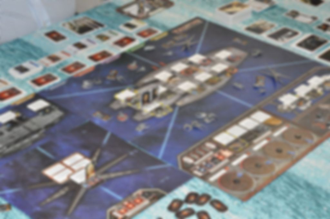 Battlestar Galactica: Pegasus Expansion gameplay