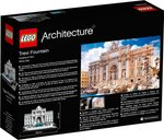 LEGO® Architecture Trevi Fountain back of the box