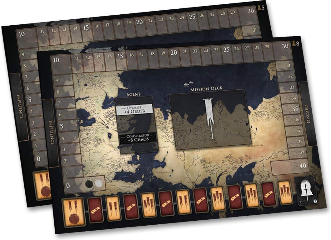 Game of Thrones: Oathbreaker game board