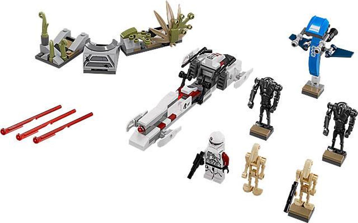 LEGO® Star Wars Battle on Saleucami components
