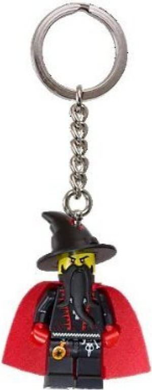 LEGO® Castle Dragon Wizard Key Chain components
