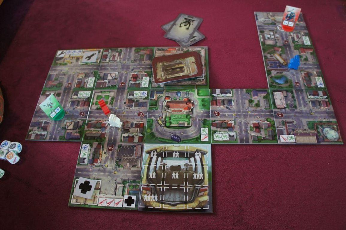 Escape: Zombie City gameplay