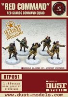 "Dust Tactics: Red Guards Command Squad - ""Red Command"""