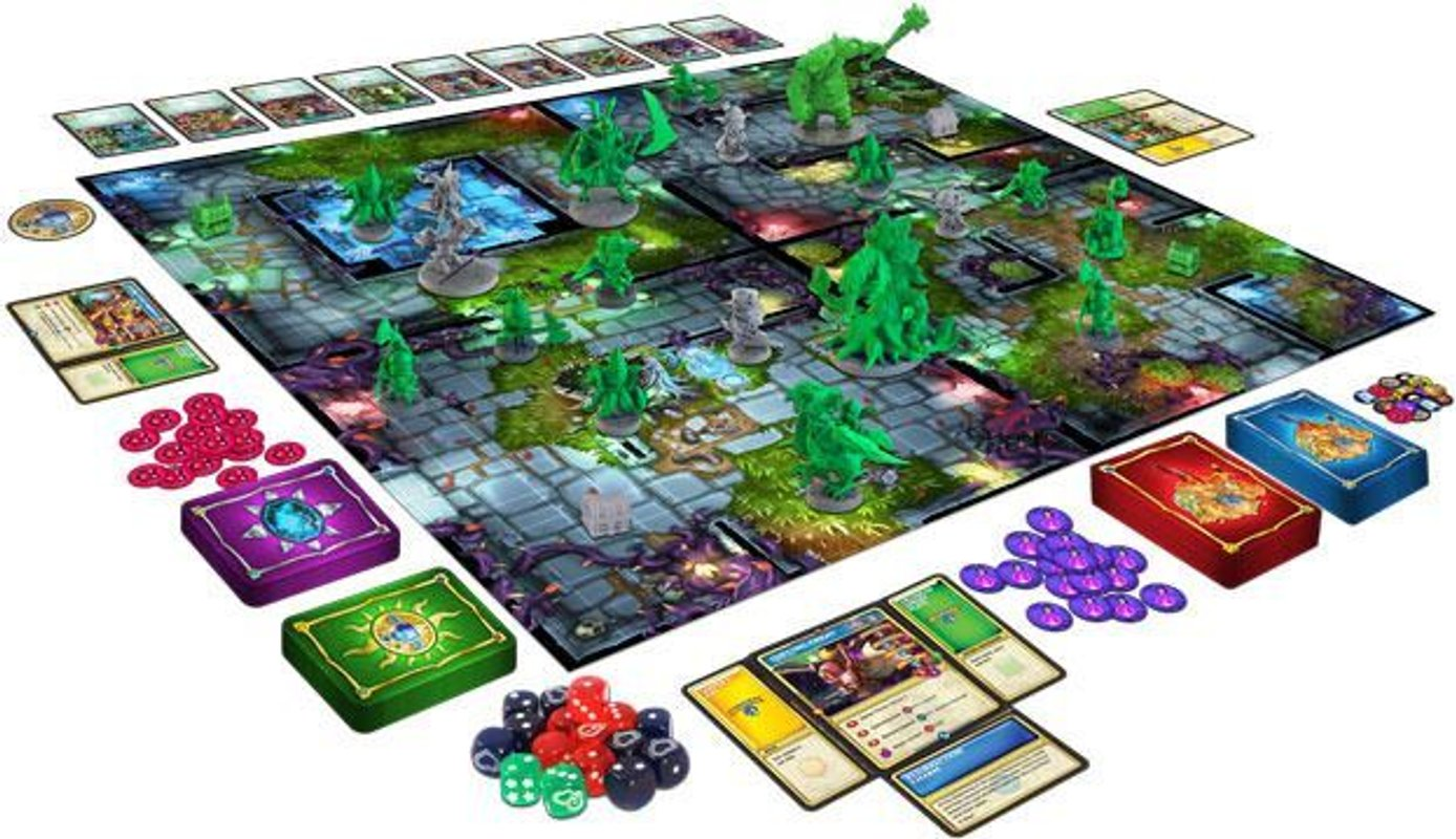 Super Dungeon Explore: Forgotten King components