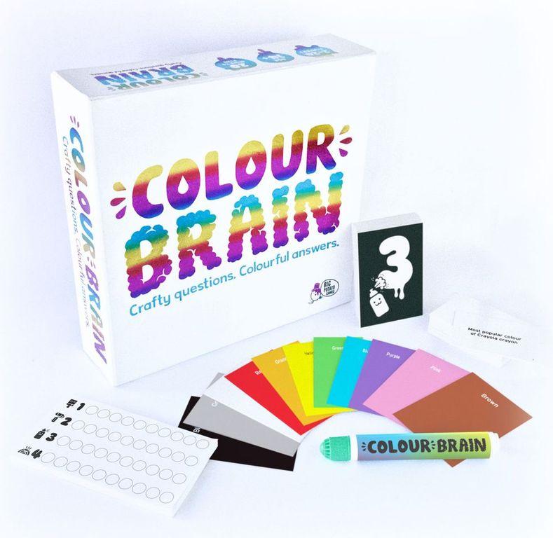 Colour brain components