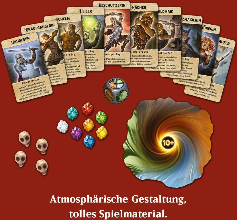 Roll for Adventure components