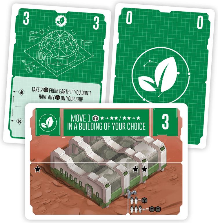 Pocket Mars cards