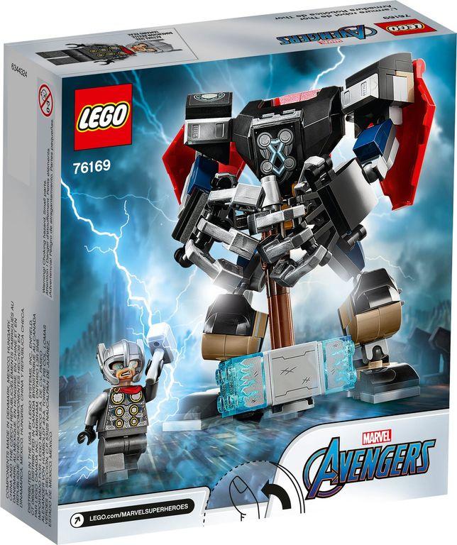 LEGO® Marvel Thor Mech Armor back of the box