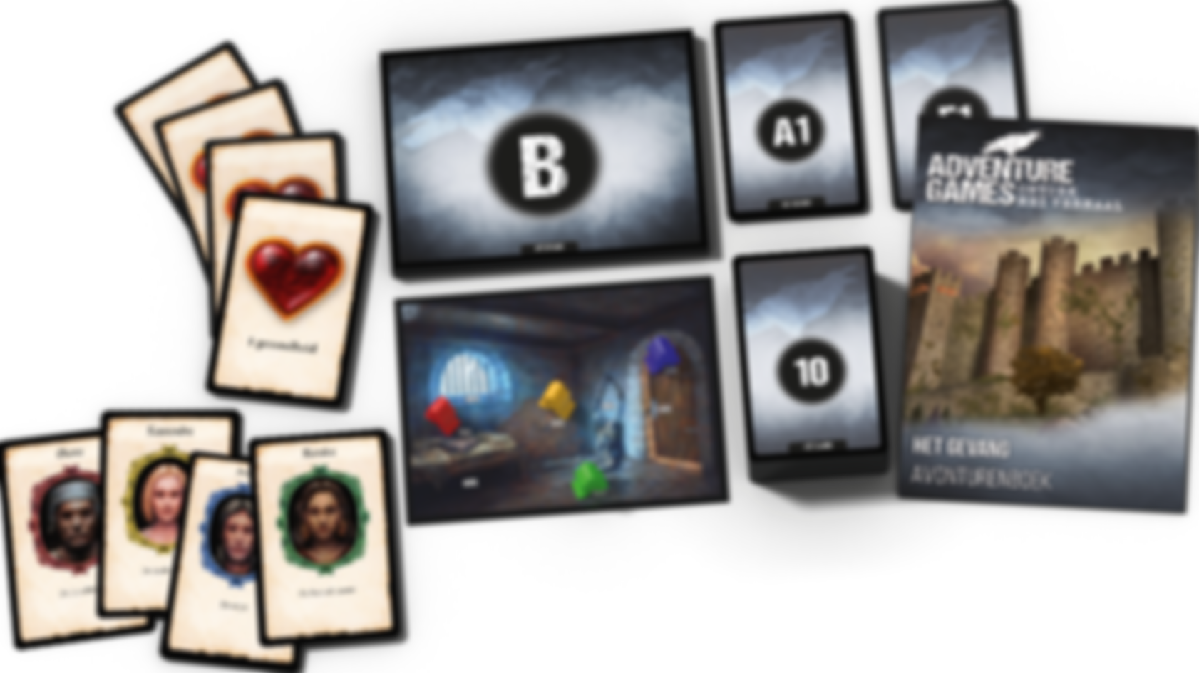 Adventure Games: The Dungeon components