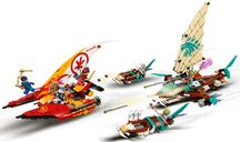 LEGO® Ninjago Catamaran Sea Battle components