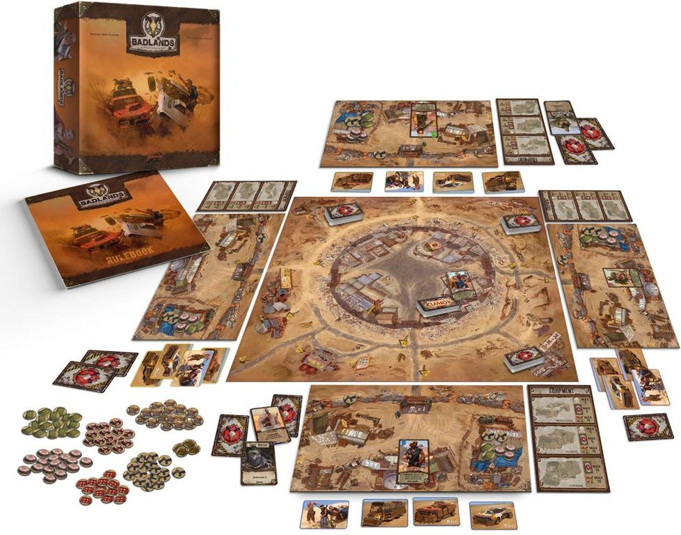 Badlands: Outpost of Humanity components