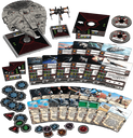 Star Wars: X-Wing Miniatures Game - Heroes of the Resistance Expansion Pack components