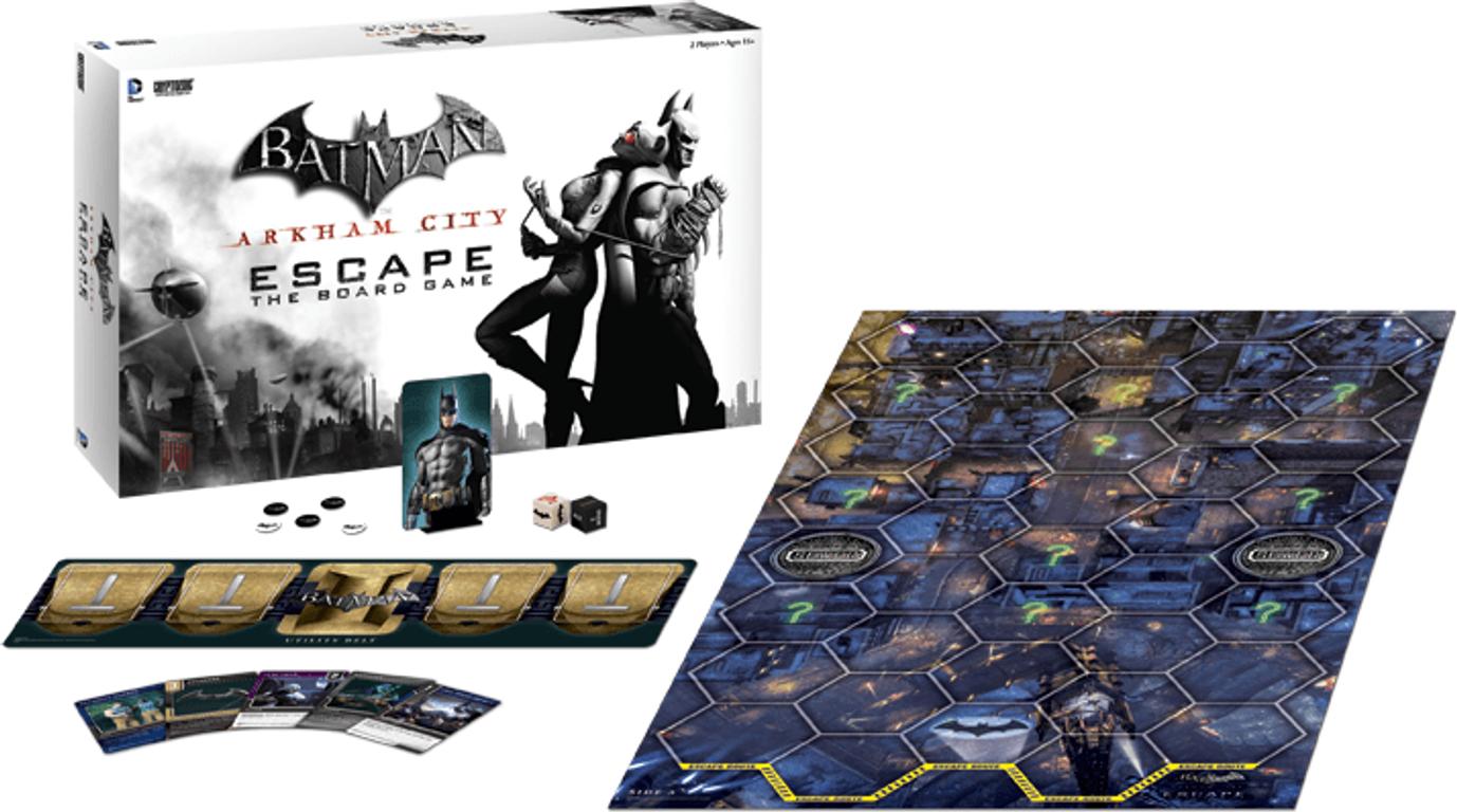 Batman: Arkham City Escape components