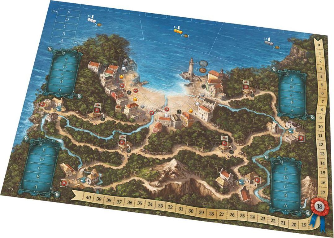 Valparaíso game board