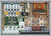 Kanban: Automotive Revolution game board