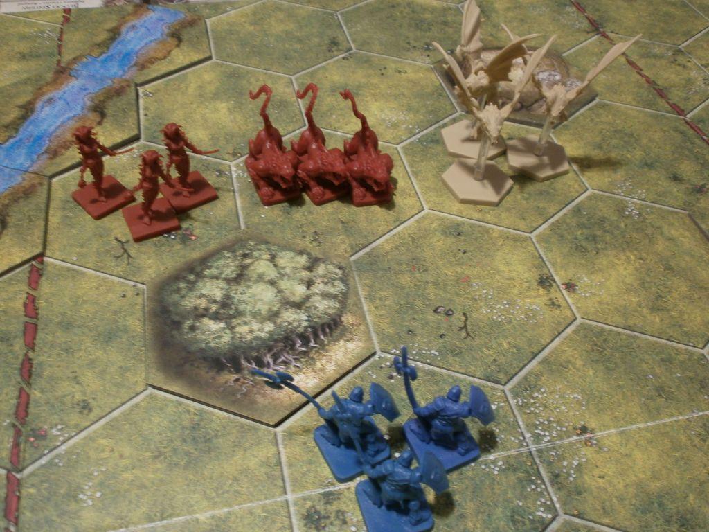 BattleLore (Second Edition): Razorwings Reinforcement Pack gameplay