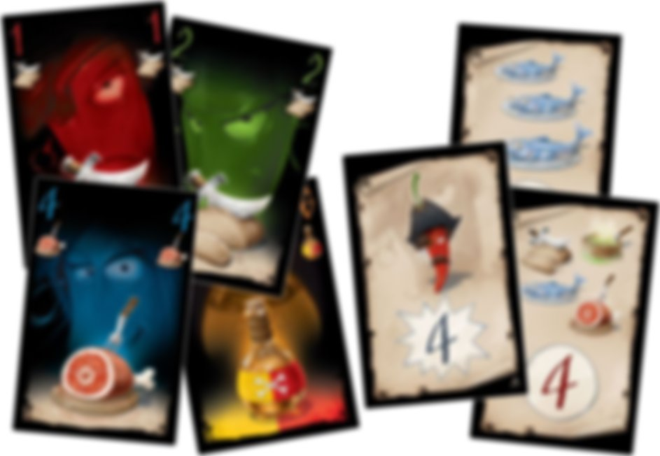 Peppers of the Caribbean cards