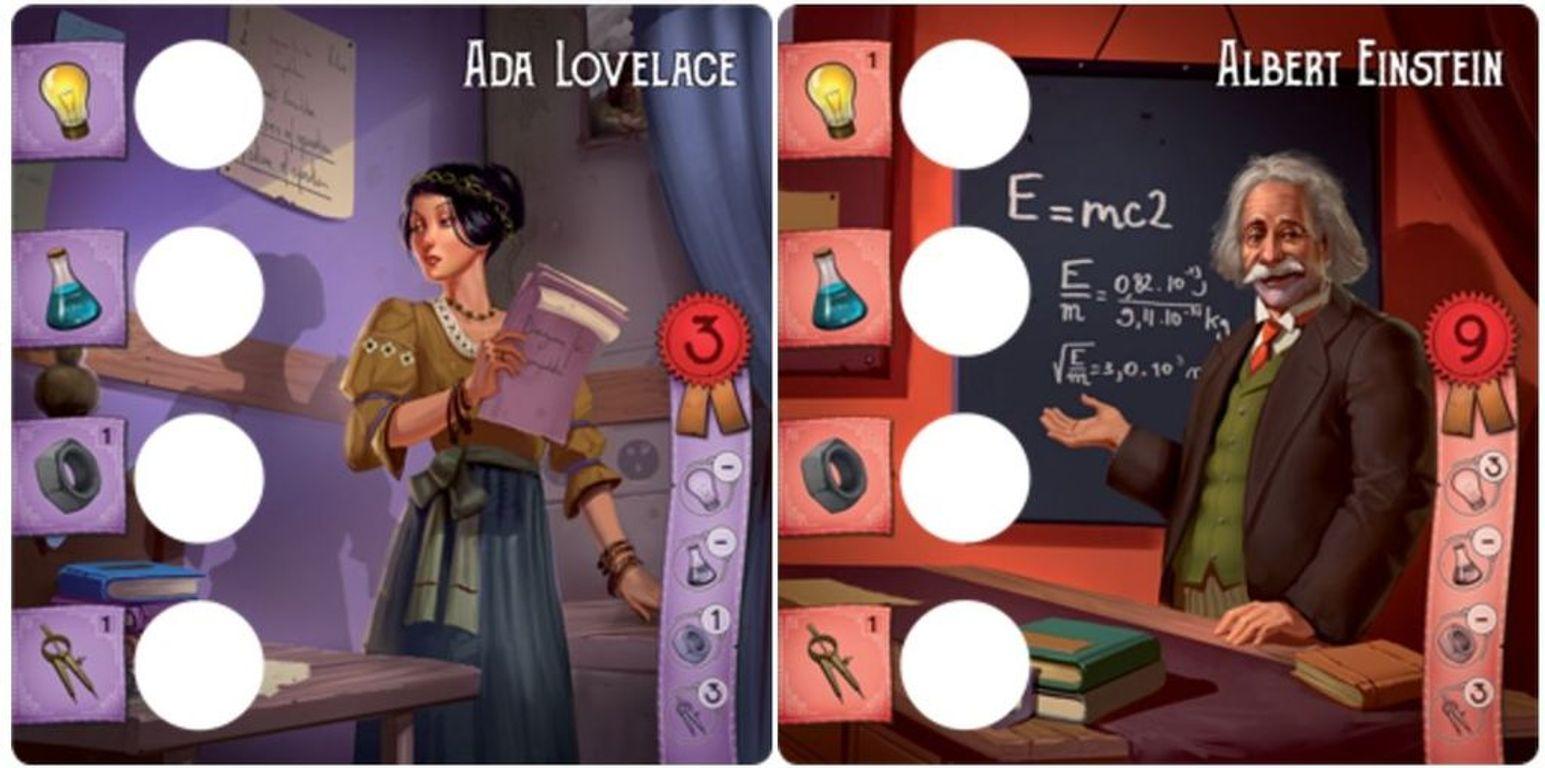 Legendary Inventors cards