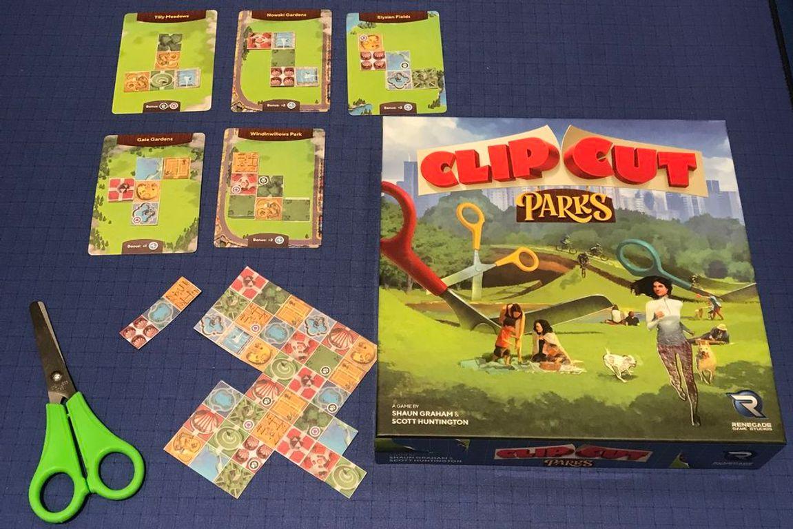 ClipCut Parks components