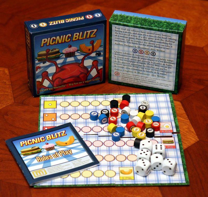 Picnic Blitz components