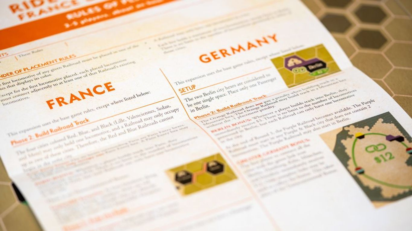 Ride the Rails: France & Germany manual