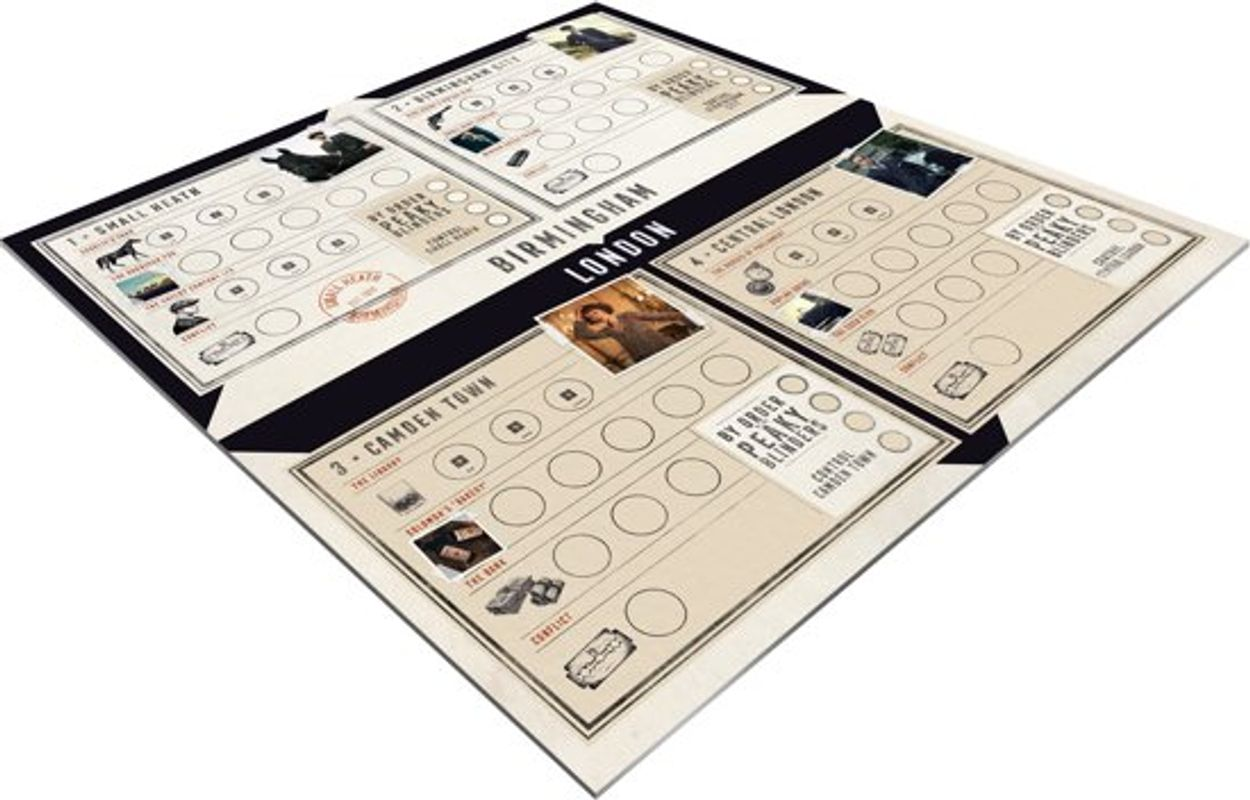 Peaky Blinders: Under New Management game board