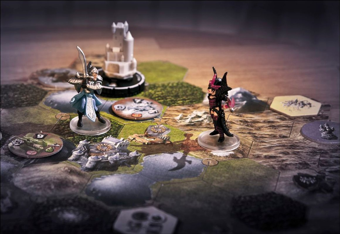 Mage Knight Board Game gameplay