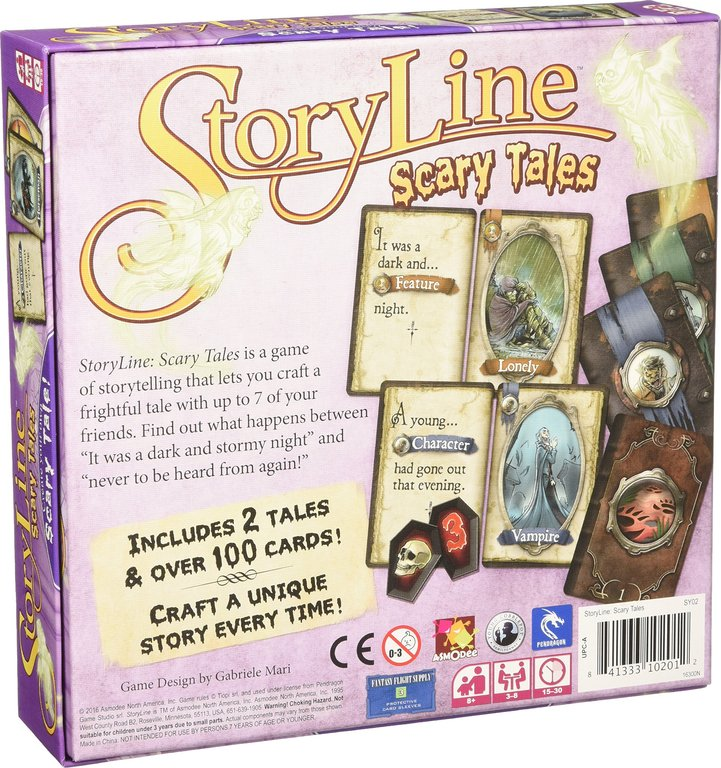 StoryLine: Scary Tales back of the box