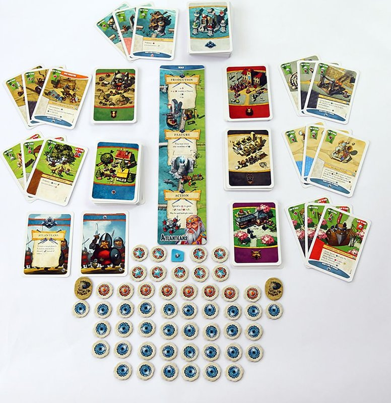 Imperial Settlers: Atlanteans components