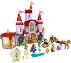 LEGO® Disney Belle and the Beast's Castle components