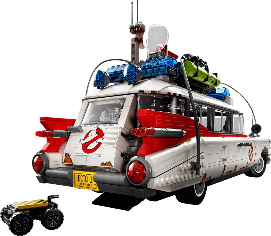 Ghostbusters™ ECTO-1 back side