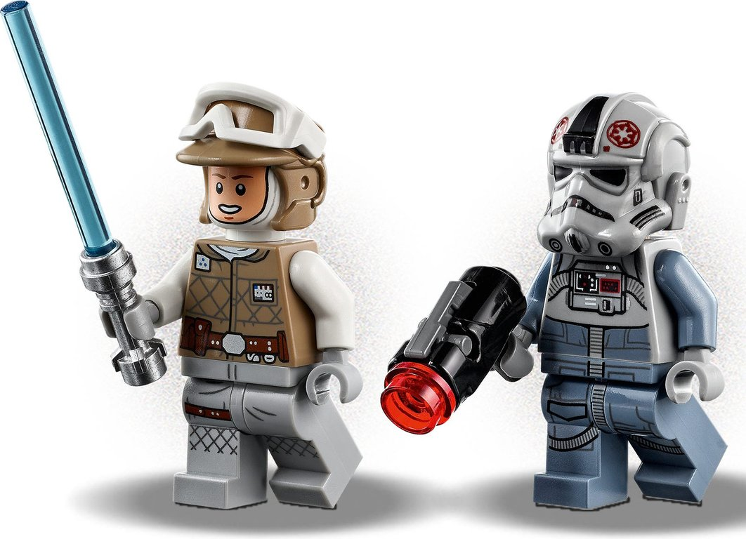 LEGO® Star Wars AT-AT™ vs. Tauntaun™ Microfighters minifigures