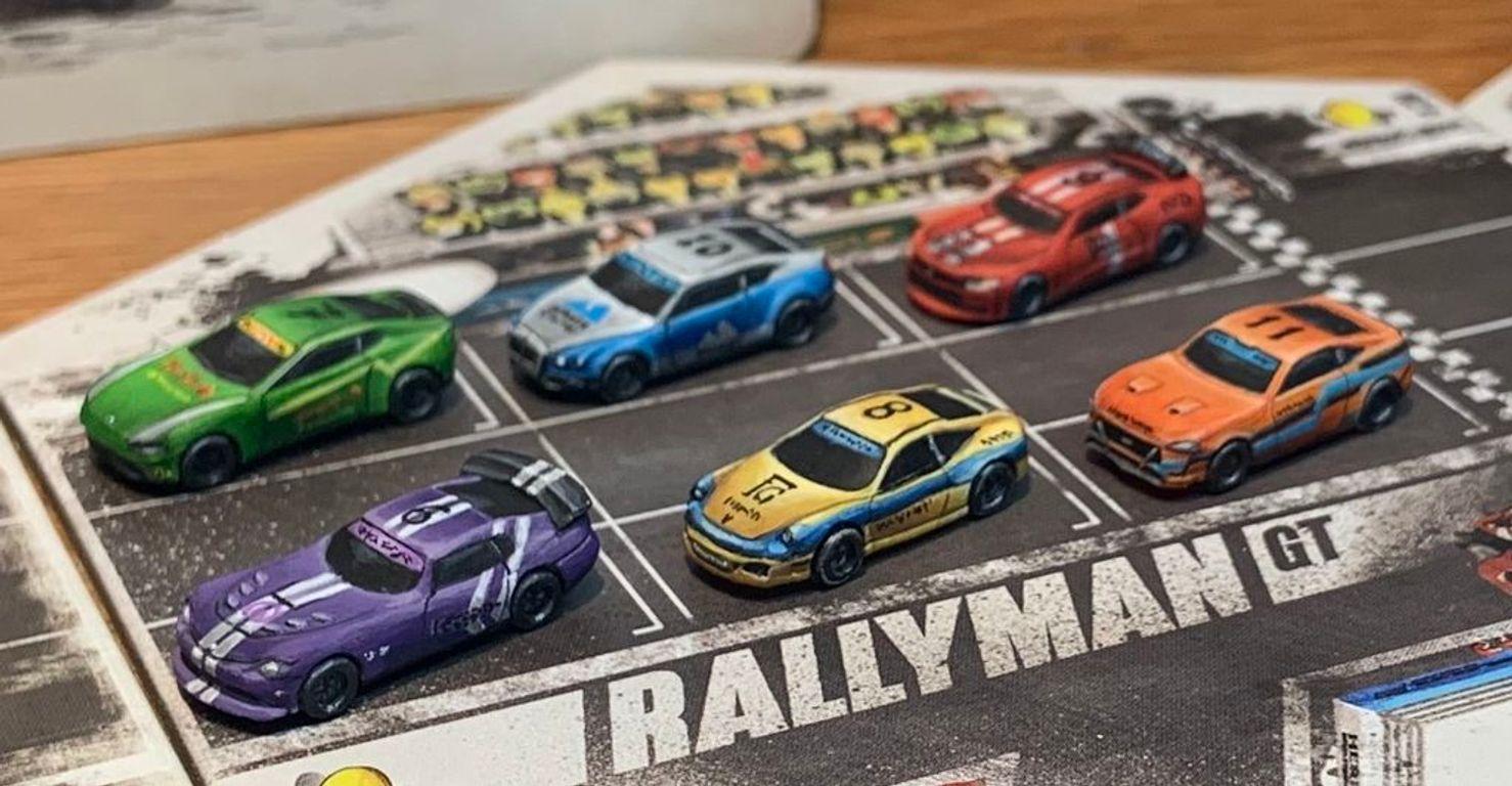 Rallyman: GT componenten