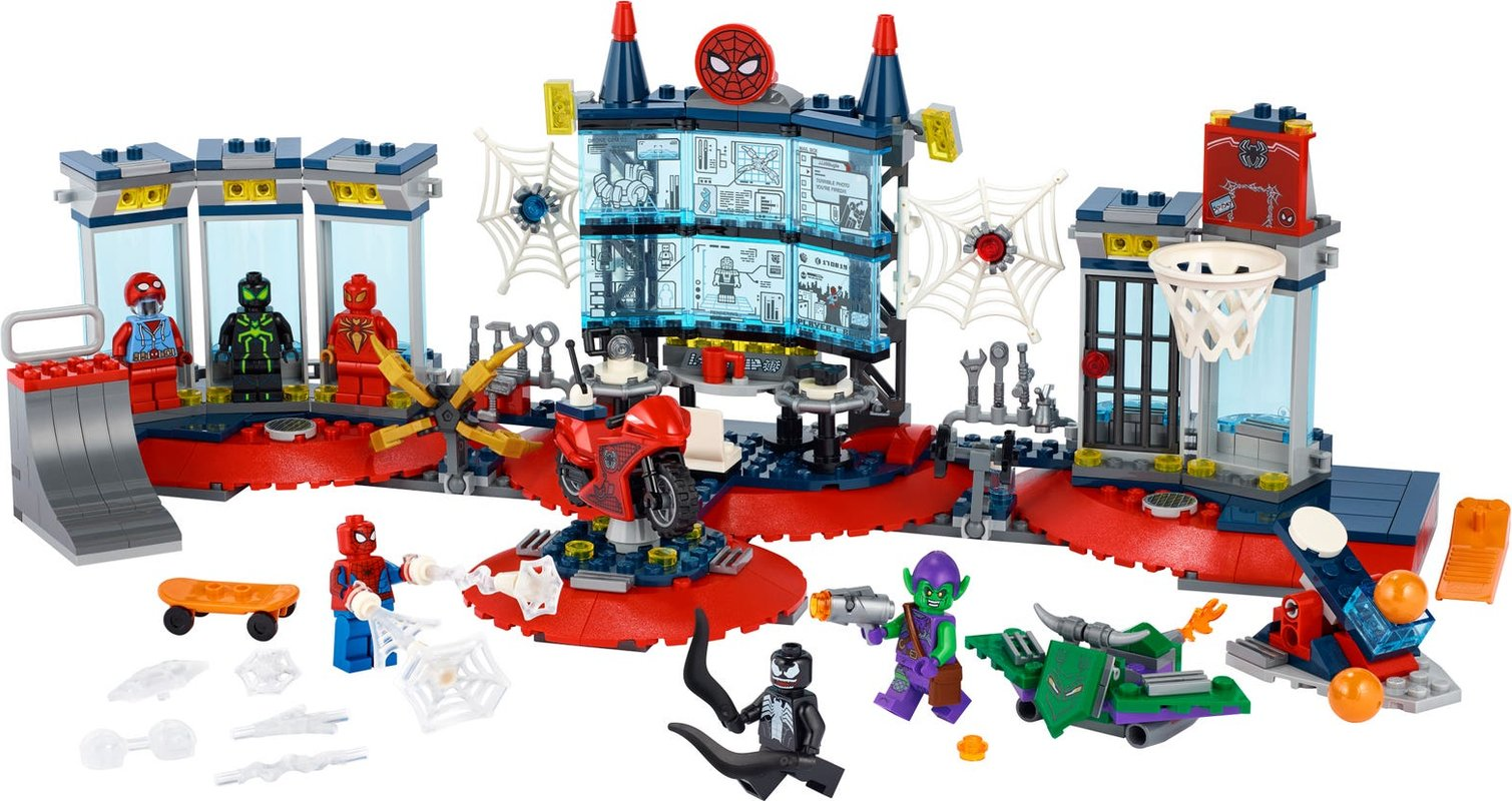 Attack on the Spider Lair components