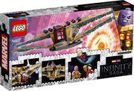 LEGO® Marvel Sanctuary II: Endgame Battle back of the box