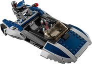 LEGO® Star Wars Mandalorian Speeder vehicle