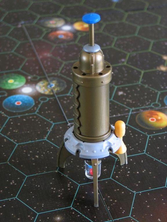 Starfarers of Catan miniatures