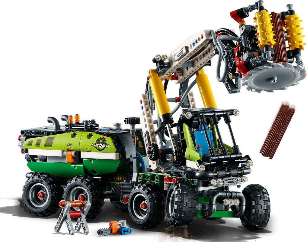 Forest Machine components