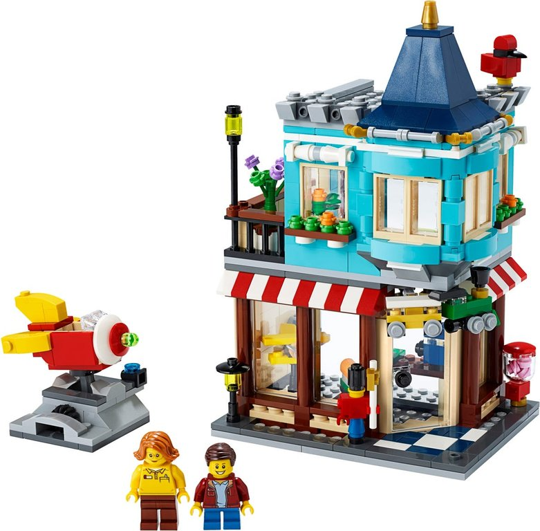 LEGO® Creator Townhouse Toy Store components