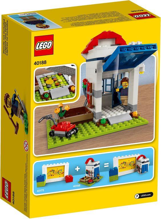 LEGO® Pencil Pot back of the box