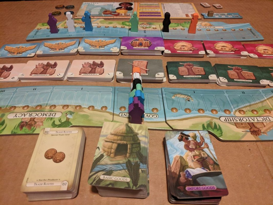 Trade on the Tigris gameplay