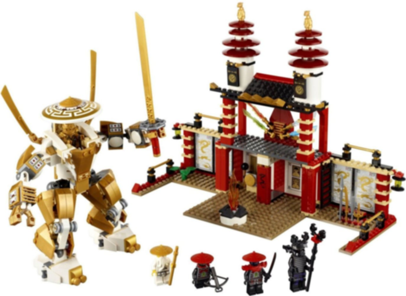 Temple of Light components