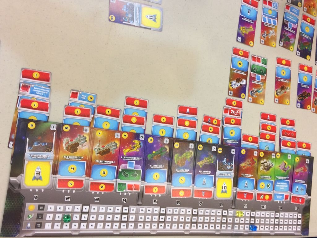Space Base gameplay