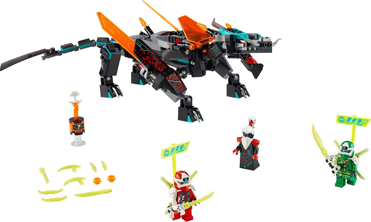 LEGO® Ninjago Empire Dragon components