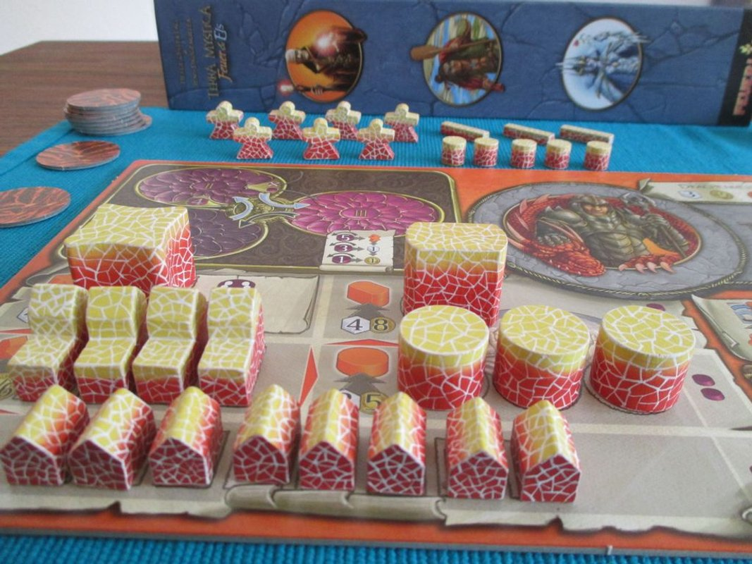 Terra Mystica: Fire & Ice components