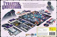 Dungeons & Dragons: Tyrants of the Underdark dos de la boîte