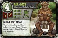 Summoner Wars: Fallen Kingdom - Second Summoner Gul-Dass card
