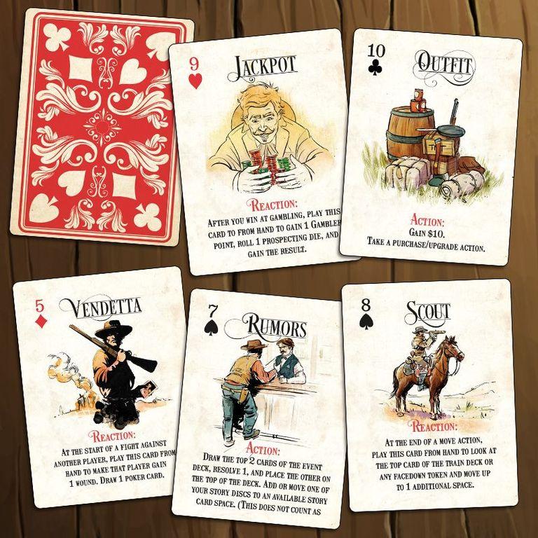 Western Legends: Ante Up cards